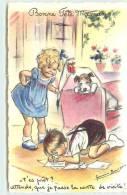 BOURET GERMAINE  -  Bonne Fête Maman.t'est Prêt? Attends, Que Je Fasse La Carte De Visite! - Bouret, Germaine
