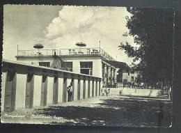 MONFALCONE -stabilimento Bagni Cartolina   Viaggiata 1951 - Altre Città