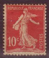FRANCE - 1906 - YT N° 134  - * - Charnière - Unused Stamps