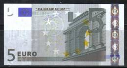 2ENG104 - PORTOGALLO , BANCANOTA Serie M - U008 UNC . SEE PHOTO - 5 Euro