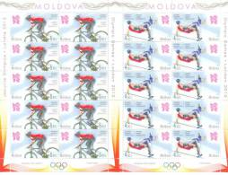 2012. Moldova, Summer Olympic Games LONDON´2012, 2 Sheetlets, Mint/** - Estate 2012: London