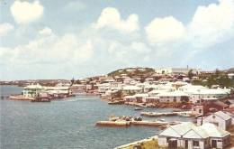 BERMUDA - TOWN OF ST-GEORGE AND ST-GEORGE HOTEL - Bermudes