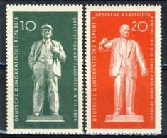 "1960 German Democratic Republic Complete MNH (**) Set Of 2 Stamps ""Lenin & Thaelmann Statues  "" Michel 772-73 - [6] Democratic Republic"