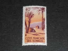 COTE DES SOMALIS YT 266 ** - TENTE DANAKIL ARBRE PALMIER - - Côte Française Des Somalis (1894-1967)