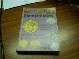 PORTUGUESE COINS CATALOG - PREÇÁRIO DAS MOEDAS DE PORTUGAL - NUMISMÁTICA 1986 - 7ª EDIÇÃO - Livres & Logiciels