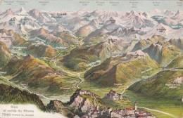 CPA Sion Et Vallée Du Rhone (pk9829) - VS Valais