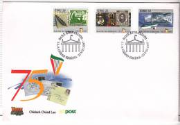1997 Eire Irlanda Ireland 75 Ann IRISH FREE STATE III STAMPS SG 1106/10/16 FDC - FDC