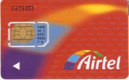 A-014 TARJETA GSM DE ESPAÑA DE AIRTEL CON SU CHIP ORIGINAL (NUEVA-MINT) - Airtel