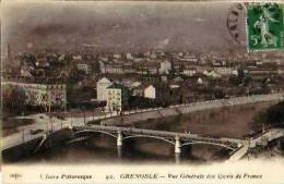 Grenoble   89            Vue Générale Des Quais De France   . - Grenoble