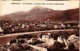 Grenoble   119        Vue Générale. Le Jardin Dolle; Au Fond Le Moucherotte  . - Grenoble