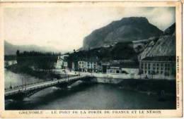 Grenoble   143          Le Pont De La Porte De France Et Le Néron   . - Grenoble