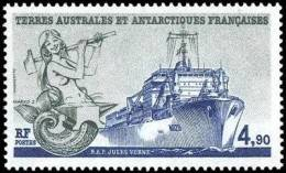 T.A.A.F. // F.S.A.T. 1988 - Navires, Le Jules Verne - 1v Neufs // Mnh Sheet - French Southern And Antarctic Territories (TAAF)