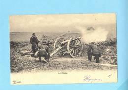 ARMEE SUISSE Schweiz Armata Svizzera Artillerie - Schiessubung ,Tir De Combat. Old Postcard - Unclassified
