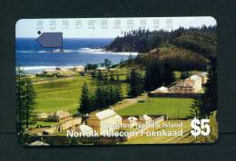 NORFOLK ISLAND - Magnetic Phonecard As Scan - Norfolk Eiland