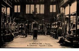 Cpa Animé  07/09/1919   -  LA  BENEDICTINE  à  FECAMP  -  Laboratoire  -  Appareils  à  Distiller - Fécamp