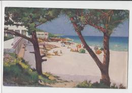 Elbow Beach  South Shore Bermuda 1935 PC - Bermuda