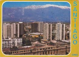 Chile Santiago City View