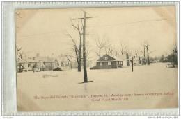 "USA-DAYTON-THE BEAUTIFUL SUBURB ""RIVERDALE "" DAYTON-1913-inondations - Dayton"