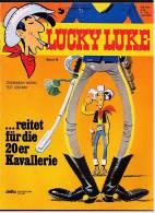Comics Lucky Luke ...reitet Für Die 20er Kavallerie ,  Band 19  Von 1990  ,  Delta Verlag - Livres, BD, Revues