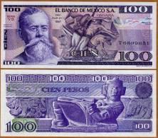 Mexico, 100 Pesos, 1982, P-74  UNC - Messico