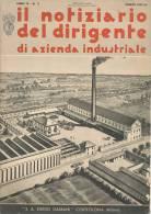 """RIVISTA FASCISTA DI AZIENDA INDUSTRIALE IN COPERTINA """" S. A. EGIDIO GALBANI  - CORTEOLONA MILANO """" - Libri, Riviste, Fumetti"""