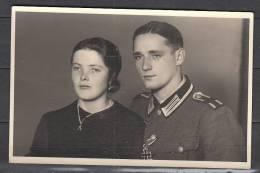 Fotokarte        Soldat  II. Weltkrieg          Ungelaufen - Personen