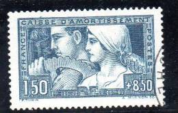 FRANCE - AN 1928 - N°  252 - Caisse D'amortissement - Oblitérés