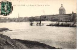 CPA - TOULOUSE - LE DOME DE L'HOPITAL DE LA GRAVE - 154 - CLEMENCE ISAURO - Toulouse