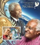 gb12519b Guinea Bissau 2012 Nobel prize winners s/s Pigeon Michel: 6106 / Bl.1083