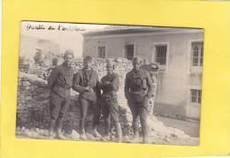 CPA Photo - 30 -  COURBESSAC - 1940 - Quatre De L´artillerie - Militaire - Frankrijk