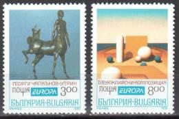 Bulgaria 1993 - Art. Painting - Sculpture - Mi.4047-4048- MNH (**) - Bulgarien