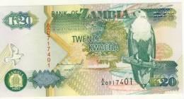BILLET # ZAMBIE # 1992 # 20KWACHA   # NEUF - Zambia