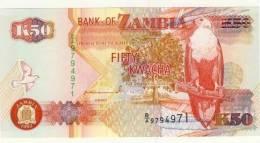 BILLET # ZAMBIE # 1992 # 50 KWACHA   # NEUF - Zambia