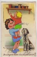 ENFANTS - On A Toujours Besoin D'un Plus Petit Que Soi!!(carte Avec Ajouti). - Cartes Humoristiques