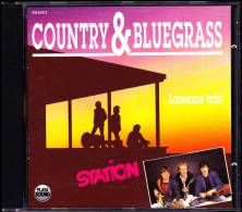 """"""" STATION - Lonesome Train """" / Country & Bluegrass  - 14 Titres . - Country & Folk"""