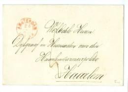 BRIEFOMSLAG Uit 1869 * Van AMSTERDAM Naar De DIJKGRAAF Te HAARLEM  (7366) - Period 1852-1890 (Willem III)