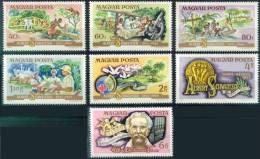 HONGRIE 2414 à 2420 ** MNH : Dr Albert SCHWEITZER Nobel LAMBARENE MICROSCOPE Orgue - Albert Schweitzer