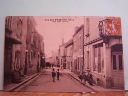 LES AIS-D'ANGILLON (CHER)  RUE DE LA LIBERTE - Les Aix-d'Angillon