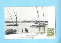 GENEVE SUISSE Schweiz Svizzera - Genève  Le Port.Old Postcard - GE Ginevra