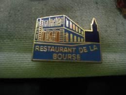 Pin's Du Restaurant De La Bourse à Strasbourg - Food