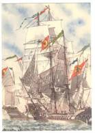 A2698 La San Francesco Da Paola  - Istituto Andrea Doria Pro Orfani Della Marina - Navi Ships Bateaux / Non Viaggiata - Guerra