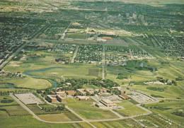 Aerial View, Home Of The Royal Canadian Mounted Police, Museum And Chapel, Regina, Saskatchewan, Canada, 50-70´s - Saskatchewan