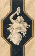 Themes Div-ref E557  - Illustrateur - Carte Postale Fond Doré- Carte Bon Etat   - - Illustrateurs & Photographes