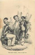Themes Div-ref E547 - Illustrateur -fete Des 100 000 -paris 13 Aout 1911- Petits Metiers   - - Illustrateurs & Photographes