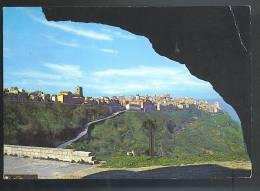 ENNA  Panorama Cartolina  Viaggiata  1966 - Enna