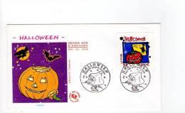 FDC Halloween - Obl Du 09/10/2004 Paris (1er Jour) - FDC