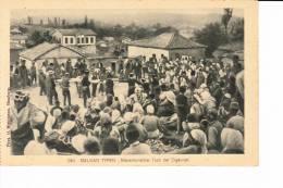 BALKAN TYPEN  --  Mazedonischer Tanz Der Zigeuner - Postales