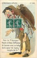 Themes Div-ref E538- Illustrateur - Carte Humoristique -humour -le Chiffonnier -theme Metiers   - Carte Bon Etat - - Humour