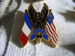 Pin´s Du CCF Franco-Américain. - Militaria