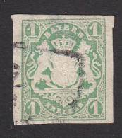 Bavaria, Scott #15, Used, Coat Of Arms, Issued 1867 - Bavaria